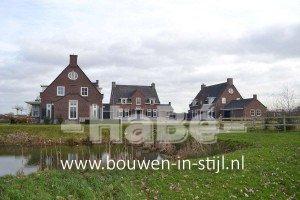 Statige landhuizen in landelijke stijl